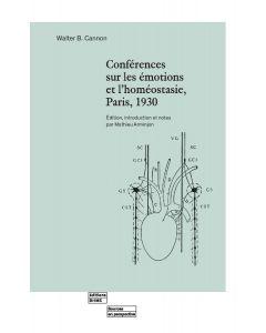 CONFERENCES SUR LES EMOTIONS ET L'HOMEOSTASIE, PARIS, 1930