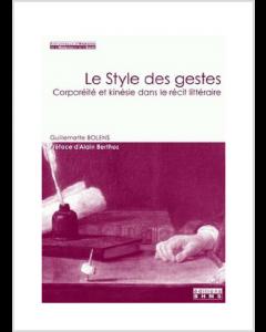 LE STYLE DES GESTES