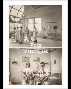 La Maternité de Lausanne. Vues historiques